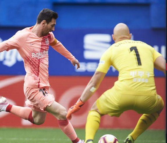 Barcelona cierra La Liga con empate en Eibar