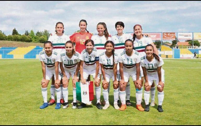 Selección femenil Sub-17 vence a Rusia